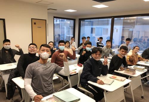 日本語を勉強