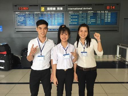 2017年5月19日入国3名
