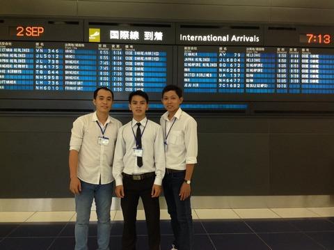9月2日入国
