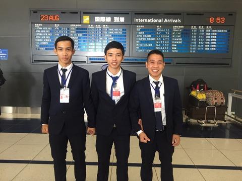 2016年8月23日入国3名